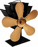 Non mollare mai Hot Air Stufa Ventilatore 5 Lame