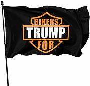 Not Applicable Giardino Bandiera Bikers for Trump