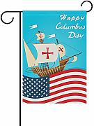 Not Applicable Happy Columbus Day Ship American