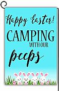 Novelcustom Happy Easter Camping with Our Peeps