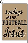 Novelcustom Sundays Are for Football And Jesus