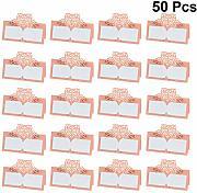 NUOBESTY 10 Pezzi Numeri da Tavolo 1-10 Carte Numeri da Tavolo in Stile Tenda in Acciaio Inossidabile per Bar Ristorante Ristorante per Matrimoni
