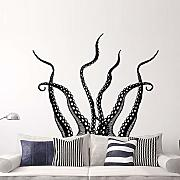 Octopus Tentacles Wall Stickers Home Decor Living