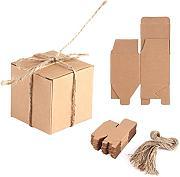 Confezione da 5 rotoli di carta kraft per regali di Natale Yuaierchen per compleanno matrimonio festa di Natale
