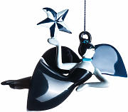 Palle di Natale Blue christmas - / Figurine in