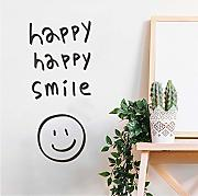Pbbzl Happy Happy Smile Wall Stickers Home Decor