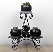 Pianta Flower Stand Iron Art Office Tavolo da