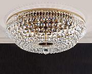 Plafoniere Con Gocce Di Cristallo : Stai cercando plafoniere classiche oro lionshome