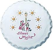 PME YT401 Silent Night Stencil per Cake Design