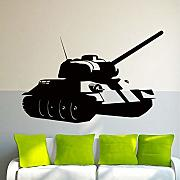 Ponana Tank Military Army Vinyl Decal Wall Sticker