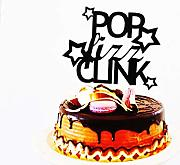 Pop Fizz Clink cake topper Capodanno decorazioni