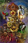 Poster 100 x 150 cm: Its all About Time di Ciro