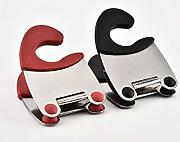 Pot pan clip Spatula rest Holder utensile da