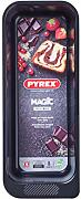 Pyrex MG26BL6 Magic teglia per pane, nero