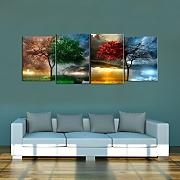 Quadro 4 Stagioni in Plexi Glass , Composto da 4