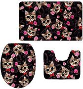 RedBeans Lovely Cat Puzzle accessorio bagno 3 PCS