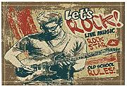 Retro Poster Decor Intrattenimento Rock and Roll