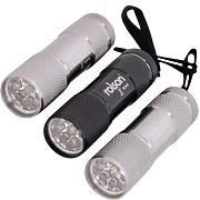 Rolson 61760 - Set di torce a 9 LED