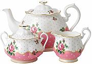 Royal Albert Cheeky 3 Pezzi in Porcellana, Colore: