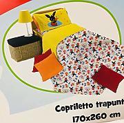 Russo Tessuti Completo Letto Lenzuola Singolo 1 Piazza Bing Bunny 100/% Cotone Giallo