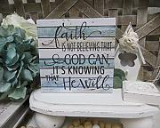 Rustic Wooden Plaque Wall Art Hanging Sign Wood