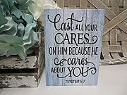 Rustic Wooden Plaque Wall Art Hanging Sign Wood,