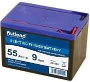 Rutland Products 22-100R Batteria, Nero, 55Ah