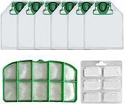 Cikuso 6 Sacchetti per aspirapolvere Sacchetti per aspirapolvere per Vorwerk Kobold VK 140 e VK 150