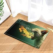 Safari Wild Animals Decor Leopardo Respirazione