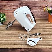 LRHD Manuale delle famiglie Mini Eggbeater Cucina Cream Egg Batter Mixer cuociono lattrezzo in acciaio inox silicone PP Frullino strumento Giallo Latte Blender Utensili da cucina for la miscelazione,