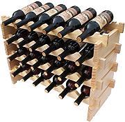 Scaffali in legno per vino confronta prezzi e offerte e risparmia fino al 60 lionshome - Scaffale portabottiglie ...