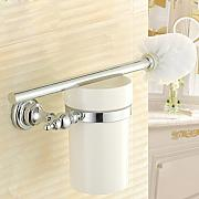 SDKIR-Spazzola per wc holder brass di stile Europeo e wc porta spazzola spazzola per WC set bagno bagno accessori hardware