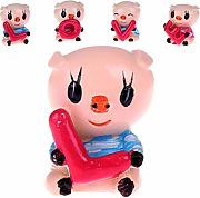 Semine Bella Amore Pig Auto Decorazione Display