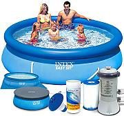 Set 7 in1 Quick Up Pool Intex 28122 Ø 305 x