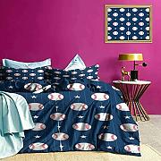 Set di biancheria da letto Baseball Artsy Stripes