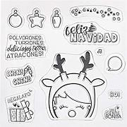 Set di timbri in silicone - Clear Stamps DIY