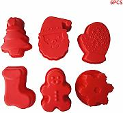Shanghaisty, set di 6 stampi in silicone a forma