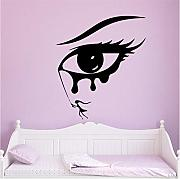 Shuyinju 58 * 67Cm Hot Eye Wall Stickers