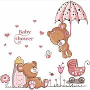 Shuyinju Baby Shower Umbrella Bearchildren Adesivo