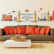 Shuyinju Big Ben Wall Sticker I Love London Hot