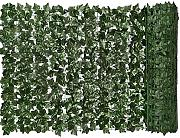 Siepe artificiale verde foglia artificiale Ivy