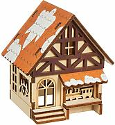 SIGRO Laser in Legno Half-timbered House con