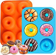 Silicone Donut Stampi,Waffle Silicone stampi per
