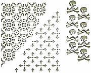 Sizzix Paillettes /& Perline 664604 Limoncello 5pz Taglia unica