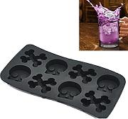 Skull stampo in silicone Ice Cube Mold Ice Cream