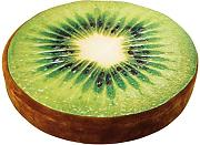 Small Foot 4166 Pouf Kiwi, Tessuto, Multicolore,