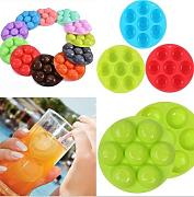 Smile Face pudding Jelly silicone vassoio Maker stampo stampo DIY domestici Ice Mold Maker
