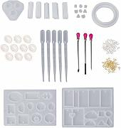 SNOWINSPRING 128Pcs Stampo in Silicone Mix
