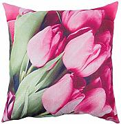 SODIAL Rose / Peonia Flower Floral Print Throw