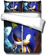 Sonic The Hedgehog Set di Biancheria da Letto per
